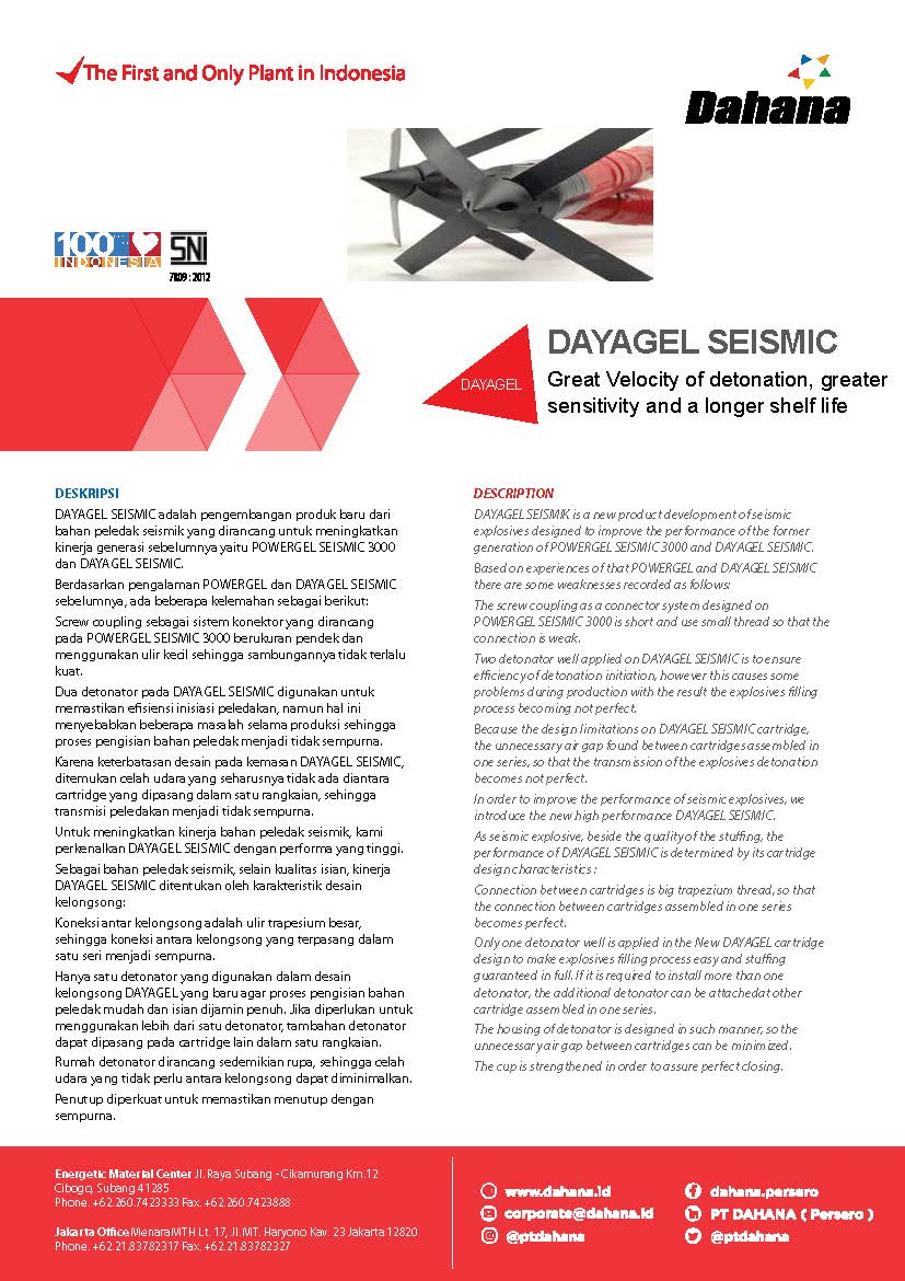 DAYAGEL SEISMIC