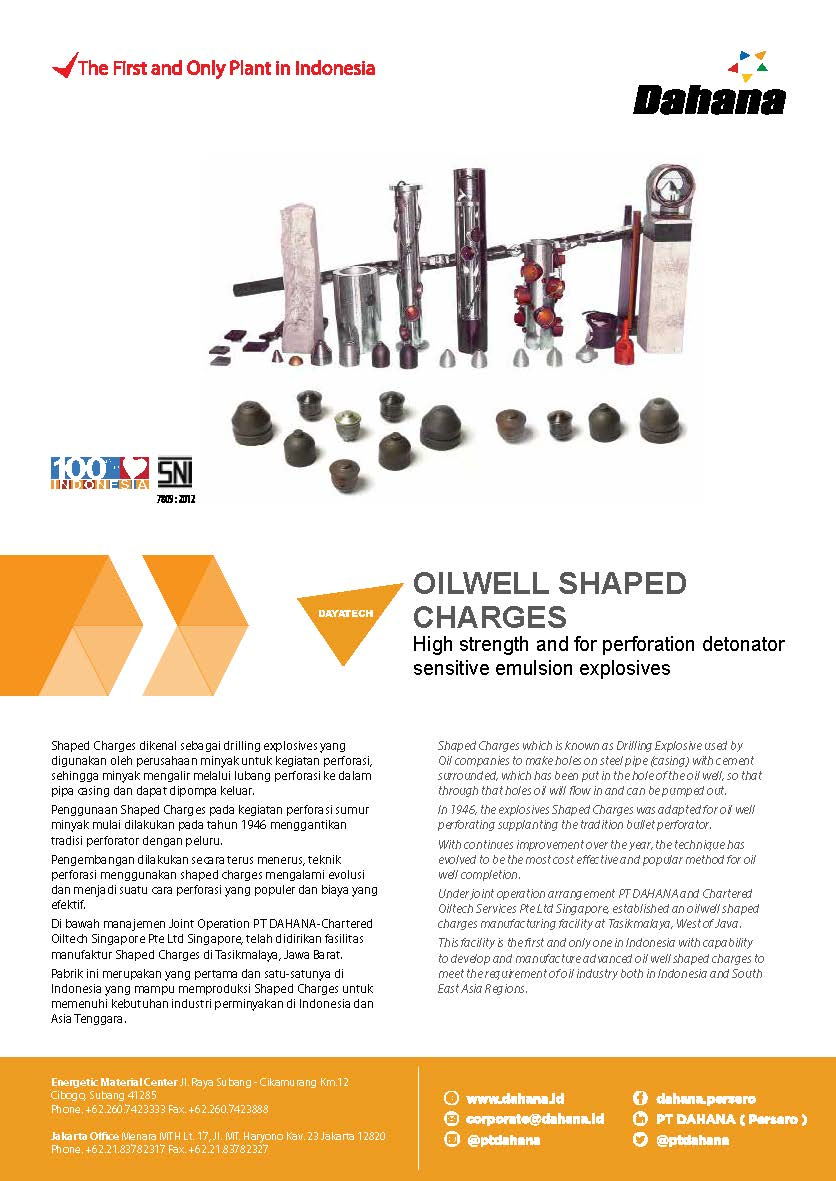 OILWELL SHAPED CHARGES